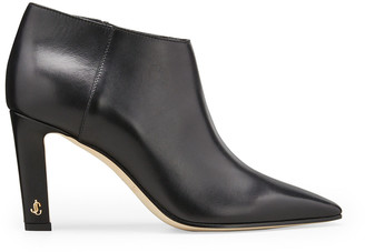 Jimmy Choo Merche Soft Leather Low-Cut Booties