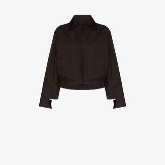 Eftychia Wool Bomber Jacket