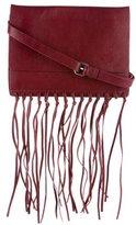 By Malene Birger Niccon Leather Fringe Crossbody Bag
