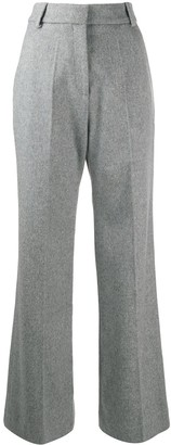 Paco Rabanne High-Rise Flared Trousers
