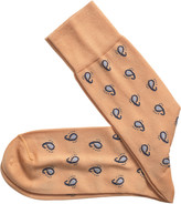 Johnston & Murphy Floating Paisley Socks