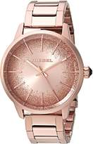 Diesel Women's 'Castilia' Quartz Stainless Steel Casual Watch, Color:-Toned (Model: DZ5567)