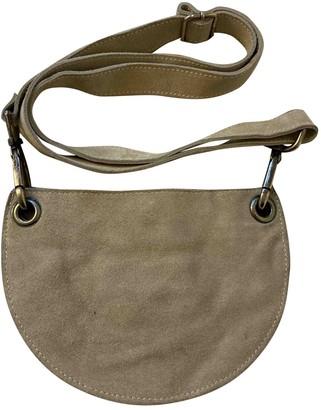 Maison Margiela Grey Suede Handbags