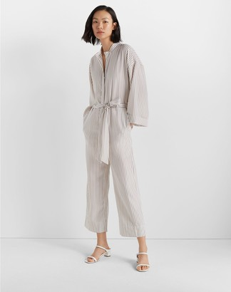 Club Monaco Long Sleeve Jumpsuit