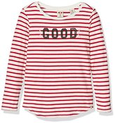 Scotch R'Belle Girl's Washed Slub Long Sleeve Tee T-Shirt