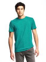 Old Navy Patterned Crew-Neck Tee for Men