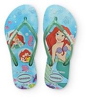 Havaianas Girls' Disney Ariel Flip Flops - Toddler, Little Kid