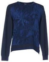 Blauer Sweatshirt