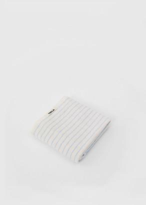 Tekla Terry Hand Towel Baby Blue Stripes