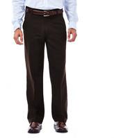 Haggar Heritage 5-Pocket Herringbone Pants - Straight Fit, Flat Front