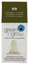 Green To Grow Replacement Silicone Nipple, Regular Neck, Intermediate, 3-6 Month, 3 Per Pack