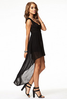 Forever 21 Lace & Chiffon High-Low Dress