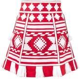 Vita Kin Croatia woven mini skirt