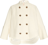 Chloé Double-breasted wool cape