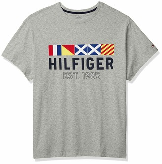 Tommy Hilfiger Men's Size Big and Tall Graphic T Shirt