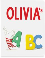 """Bed Bath & Beyond """"Olivia's ABC"""" Board Book by Ian Falconer"""