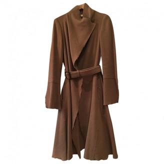 Nicole Farhi Camel Wool Coat for Women