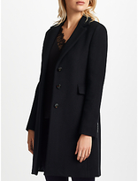 Marella Nankin Single Breasted Coat, Black