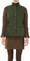 Max Studio Quilted And Padded Vest