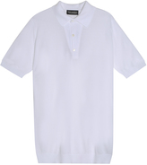 John Smedley Roth Pique Polo Shirt