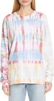 John Elliott Reconstructed Tie Dye Long Sleeve T-Shirt