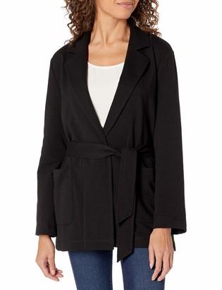 b new york Women's Recycled Notch Collar Wrap Jacket