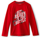 Classic Little Boys Active Graphic Tee-Pattern Fill Soccer
