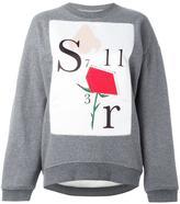 Au Jour Le Jour rose print sweatshirt