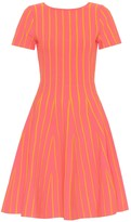 Carolina Herrera Striped midi dress