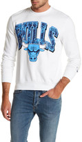 Mitchell & Ness NBA Bulls Fleece Crew Neck Sweater