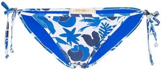 La DoubleJ triangle bikini bottoms