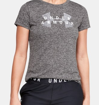Under Armour Women's UA Velocity Graphic Short Sleeve