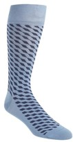 Cole Haan Men's Diagonal Cube Socks