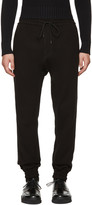 Juun.J Black Drop Lounge Pants