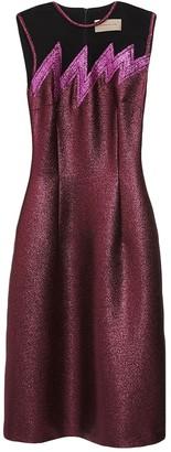Christopher Kane Metallic Wool Dresses