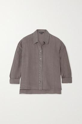 James Perse Linen Shirt - Green