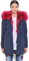 Canvas Parka W/ Coyote & Murmansky Fur