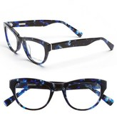 Derek Lam Women's 48Mm Optical Glasses - Blue Marble