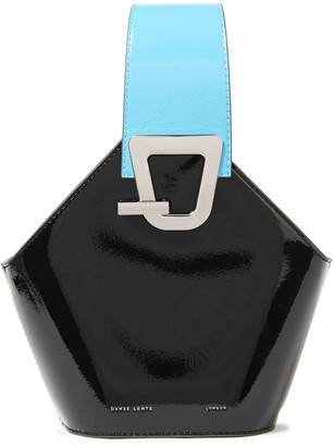 Danse Lente Johnny Mini Patent-leather Bucket Bag