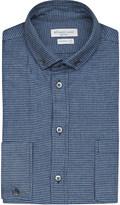 Richard James Puppytooth cotton flannel shirt