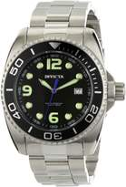 Invicta Men's 0480 Pro Diver Collection Black Mother-of-Pearl Dial Stainless Steel Watch
