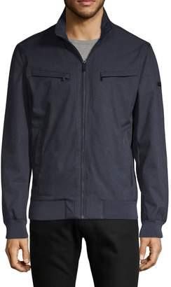 Michael Kors Long-Sleeve Zip Jacket
