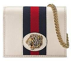 Gucci Women's Rajah Chain Card Case