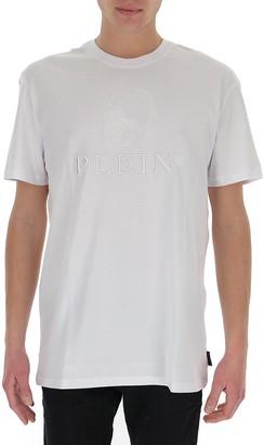 Philipp Plein Skull Embroidered T-Shirt