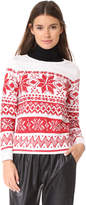 Ashish Sequin Fairisle Top