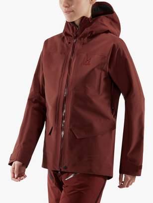 Haglöfs Grym Evo Women's Waterproof Jacket, Maroon Red