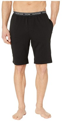 Calvin Klein Underwear CK One Basic Lounge Shorts (Black) Men's Pajama
