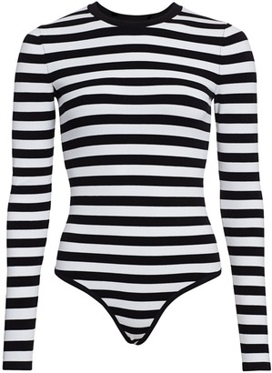 Michael Kors Stripe Bodysuit