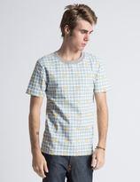 Icecream Grey Waffle Print T-Shirt