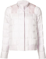 Moncler Gamme Rouge zipped neck hooded jacket